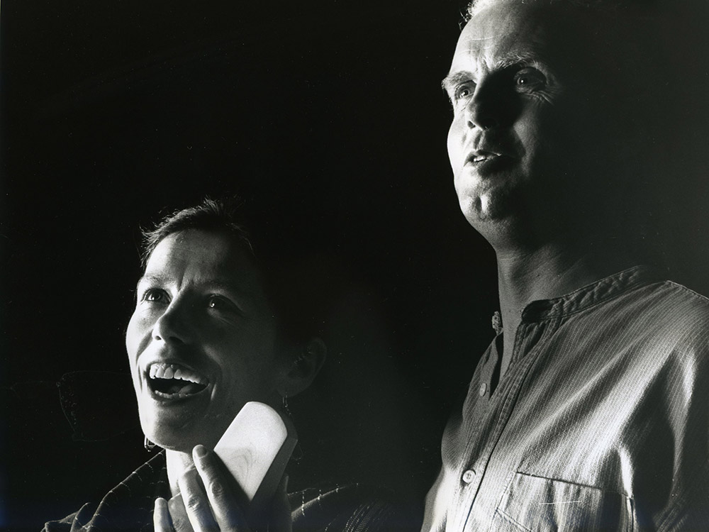 Helen and Hugh Lupton in BRANWEN