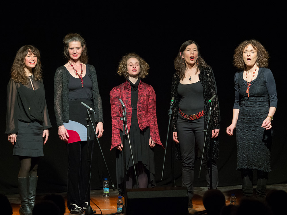 Helen Chadwick Song Theatre in concert at Narberth A Cappella Voice Festival